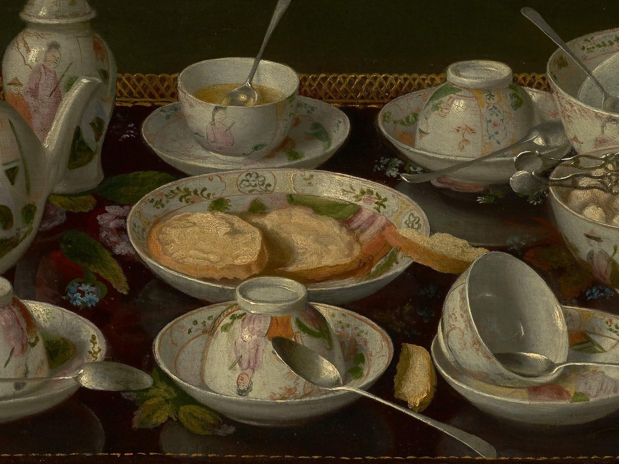 Tea set: Jean Etienne Liotard